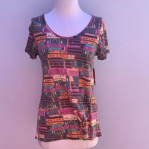 LULAROE Scoop Neck Top Size XS
